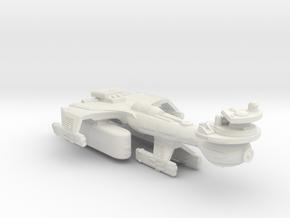 3788 Scale Klingon B10TK Emergency Battleship WEM in White Natural Versatile Plastic