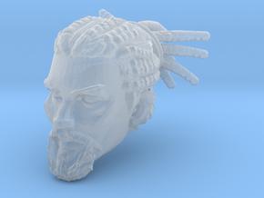 Atiq Head 1 for Mythic Legions 2.0 in Smooth Fine Detail Plastic