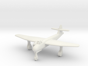(1:200) Blohm & Voss BV P.178 (Wheels down) in White Natural Versatile Plastic