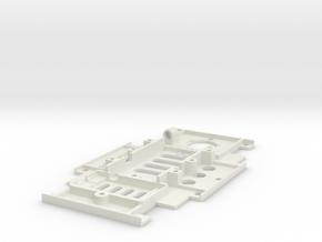 Bi-Copter:Upper Deck in White Natural Versatile Plastic