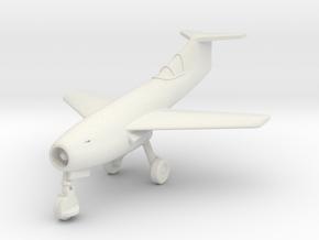 (1:144) Messerschmitt Me P.1106 T-tail (Gear down) in White Natural Versatile Plastic