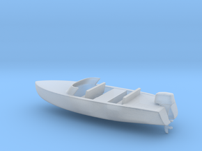 Printle Thing Speed Boat - 1/48 in Smooth Fine Detail Plastic