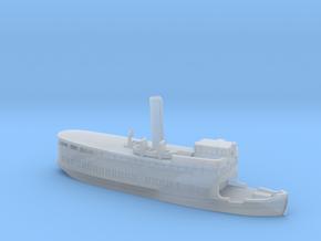 "Steamer ""Gustafsberg VII"" (1912) in 1/1250 scale in Smoothest Fine Detail Plastic"