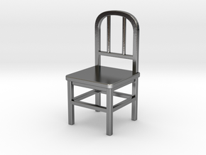 Chair in Polished Silver