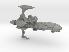 Torture Class Cruiser - Concept C  in Gray PA12