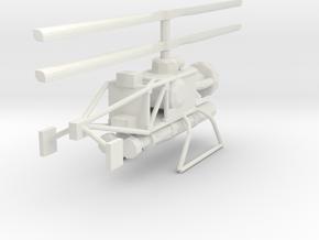 1/48 Scale Gyrodyne QH-50C DASH in White Natural Versatile Plastic