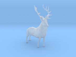 HO Scale Elk in Smooth Fine Detail Plastic