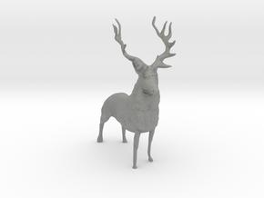 S Scale Elk in Gray PA12