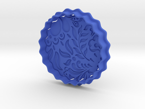 Cookie cutter - Gjel in Blue Processed Versatile Plastic