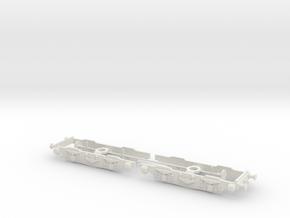 EM1 Bogie 0 in White Natural Versatile Plastic