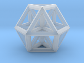 """Small Vector Equilibrium 1"""" in Smooth Fine Detail Plastic"""