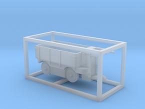 E-Karren Niederbordwagen - 1:120 TT in Smooth Fine Detail Plastic