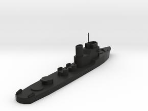 Regia Marina Spica in Black Natural Versatile Plastic: 1:300