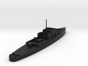 USS PGM 9 in Black Natural Versatile Plastic: 1:300