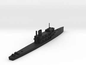 HNoMS Otra in Black Natural Versatile Plastic: 1:300