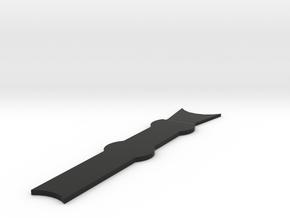Regia Marina Spica gangway in Black Natural Versatile Plastic: 1:300