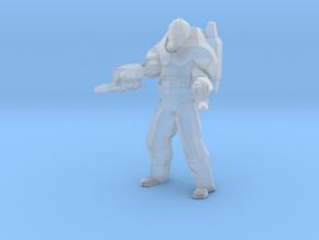 Star Wars Heavy Clone Trooper 1/60 miniature 4game in Smooth Fine Detail Plastic