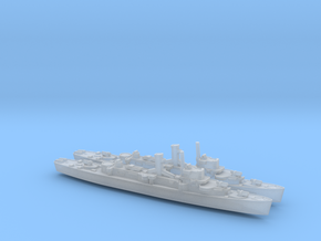 USS England x2 (Buckley Class) 1/1800 in Smooth Fine Detail Plastic