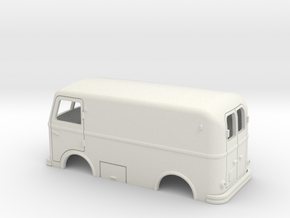 DAF-A10-body-1to50 in White Natural Versatile Plastic
