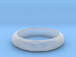 Low Poly Ring Narrow in Smoothest Fine Detail Plastic: 7 / 54