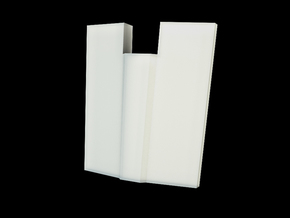 Iron Man Spine Vertebrae (5 out of 6) in White Natural Versatile Plastic