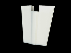 Iron Man Spine Vertebrae (6 out of 6) in White Natural Versatile Plastic