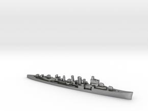HMS Delhi 1:3000 WW2 naval cruiser in Natural Silver