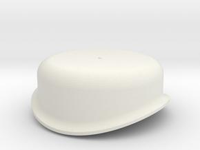 G Scale Reading T1 Steam Dome in White Natural Versatile Plastic
