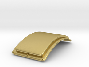 G Scale Reading T1 Superheater Cover in Natural Brass