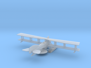 Short 184 with Bombs in Smooth Fine Detail Plastic: 6mm