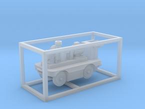 E-Karren Flachwagen Pumpe (NEU) - 1:120 TT in Smooth Fine Detail Plastic