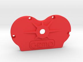 Cinetape Back (PART CIN-BCK01) in Red Processed Versatile Plastic