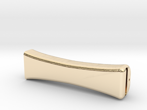 American Bow Handle in 14K Yellow Gold