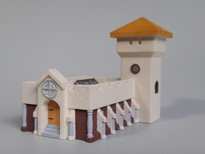 Great Hall from the Dark Eye RPG in White Natural Versatile Plastic