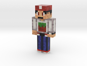 MineMario101 | Minecraft toy in Natural Full Color Sandstone