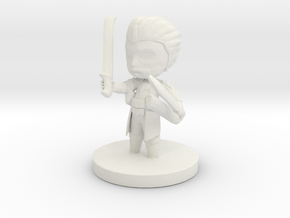 Steadfast Fighter Cimon in White Natural Versatile Plastic