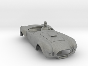 427 Cobra Body: Fits AFX MegaG 1.7 in Gray PA12