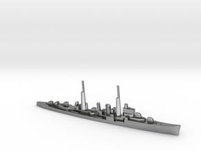 HMS Delhi (masts) 1:1800 WW2 naval cruiser in Natural Silver