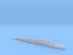 HMS Delhi 1:1800 WW2 naval cruiser in Smoothest Fine Detail Plastic