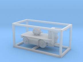 E-Karren Flachwagen E-Motor A - 1:120 TT in Smooth Fine Detail Plastic