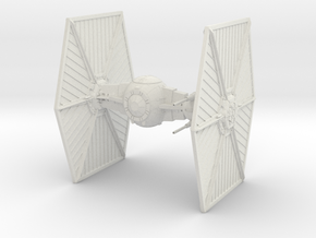 TIE Heavy Starfighter in White Natural Versatile Plastic