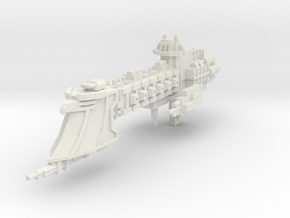 Crucero Ligero clase Intrepido V3  in White Natural Versatile Plastic