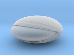 SpaceHelmetv3l2 in Smooth Fine Detail Plastic