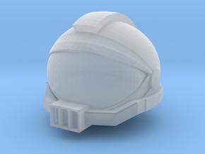 SpaceHelmetv3l1A3 in Smooth Fine Detail Plastic