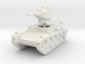 1/160 (N) 7TP light tank in White Natural Versatile Plastic