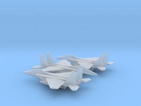 McDonnell Douglas F-15E Strike Eagle in Smooth Fine Detail Plastic: 1:500