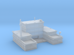 Headquaters building/HQ in Smooth Fine Detail Plastic