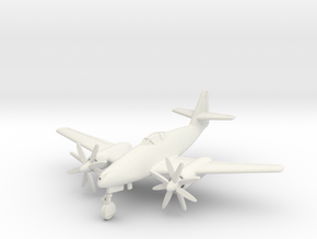 (1:144) Messerschmitt Me 262 A-1a/U4 Turboprop in White Natural Versatile Plastic
