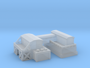 Military compund / barracks in Smooth Fine Detail Plastic