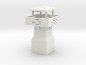 Guard tower 3 in White Natural Versatile Plastic